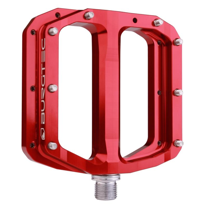 BURGTEC PENTHOUSE MK4 FLAT PEDALS STEEL AXLE