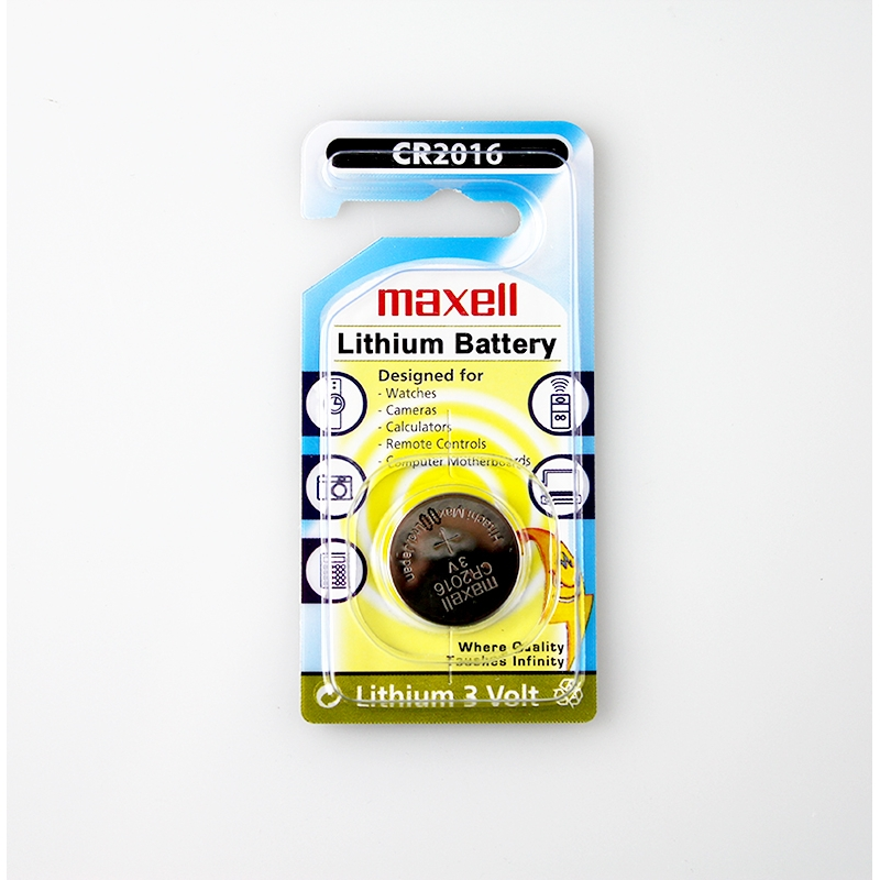 MAXELL BATTERY CR2016 LITHIUM