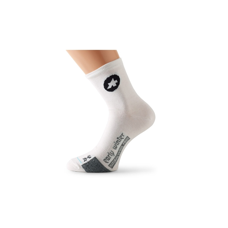 ASSOS EARLY WINTER SOCKS WHITE 0 (35-38)
