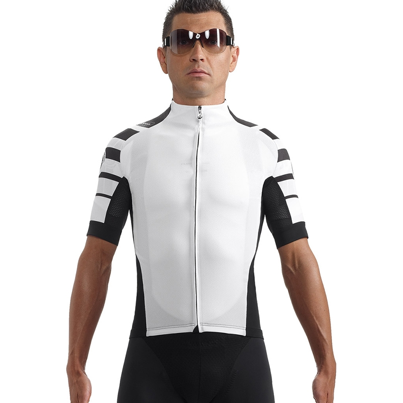 ASSOS SS CENTO JERSEY WHITE PANTHER SMALL