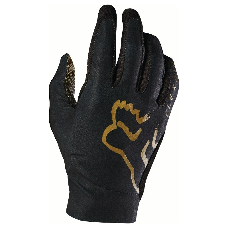 FOX HEAD FLEXAIR GLOVES BLACK / COPPER SMALL