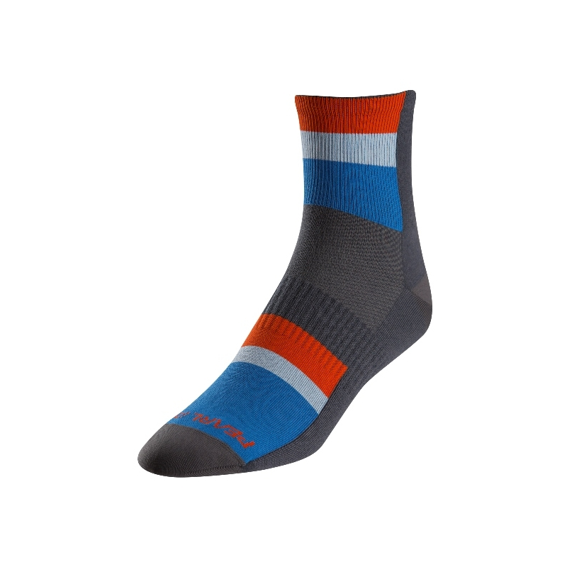 PEARL IZUMI ELITE SOCKS LONG STRIPE BLUE LARGE (41-44 EU)