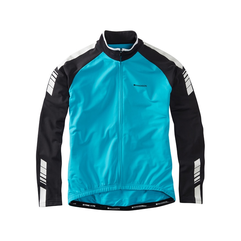 MADISON PELOTON LONG SLEEVE THERMAL JERSEY MENS
