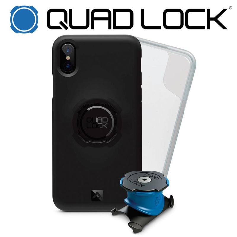 QUAD LOCK BIKE KIT IPHONE X / XS