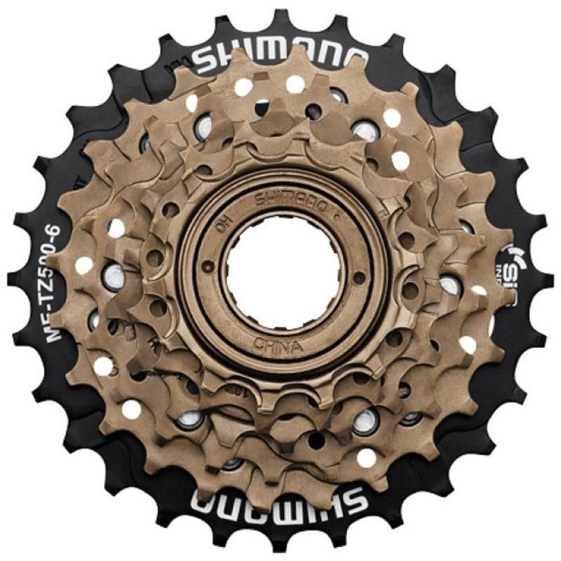 SHIMANO MF-TZ500 MULTI FREEWHEEL 14-28