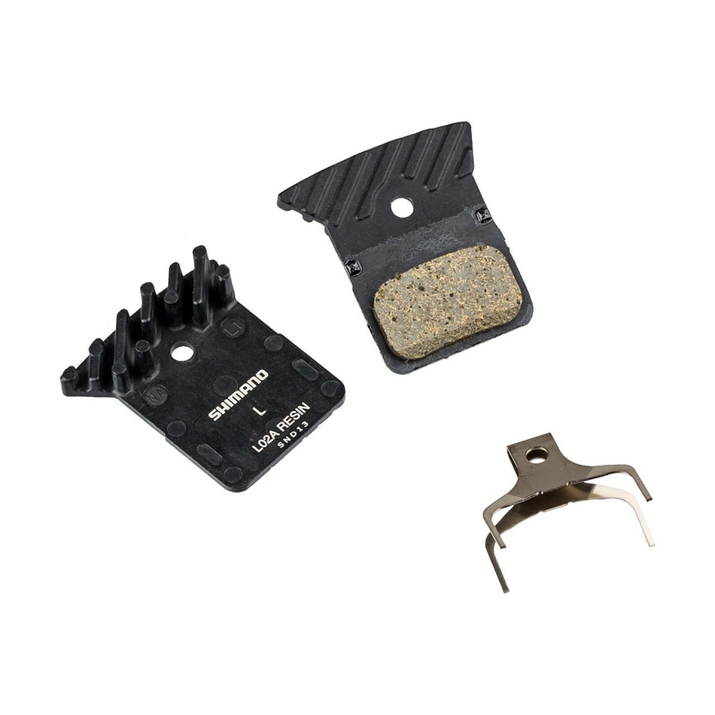 SHIMANO L03A DISC PADS WITH COOLING FINS