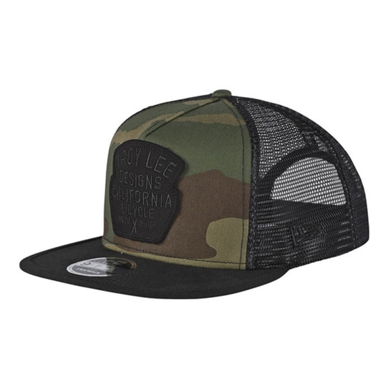 TROY LEE GRANGER CAP CAMO / ARMY GREEN ONE SIZE
