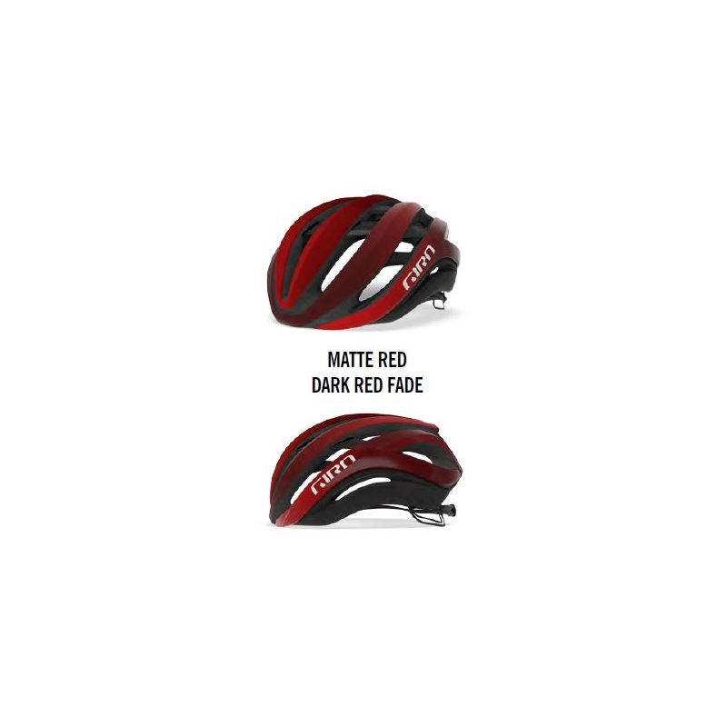 MATTE RED / DARK RED