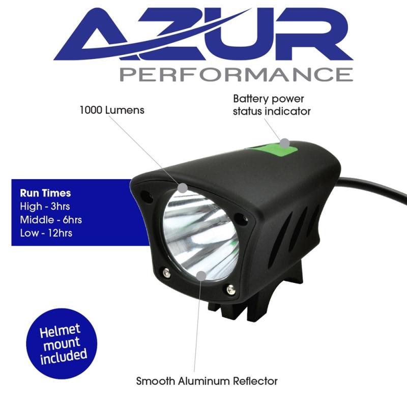 AZUR ZAP 1000 LUMEN LIGHT