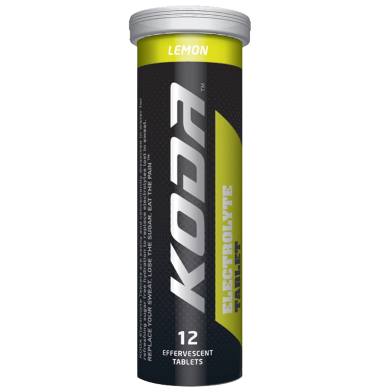 SHOTZ/KODA ELECTROLYTE TABLETS 12PACK LEMON