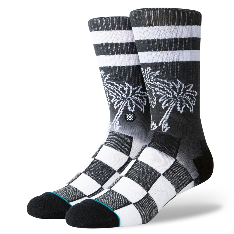 STANCE DIPPED CREW SOCKS