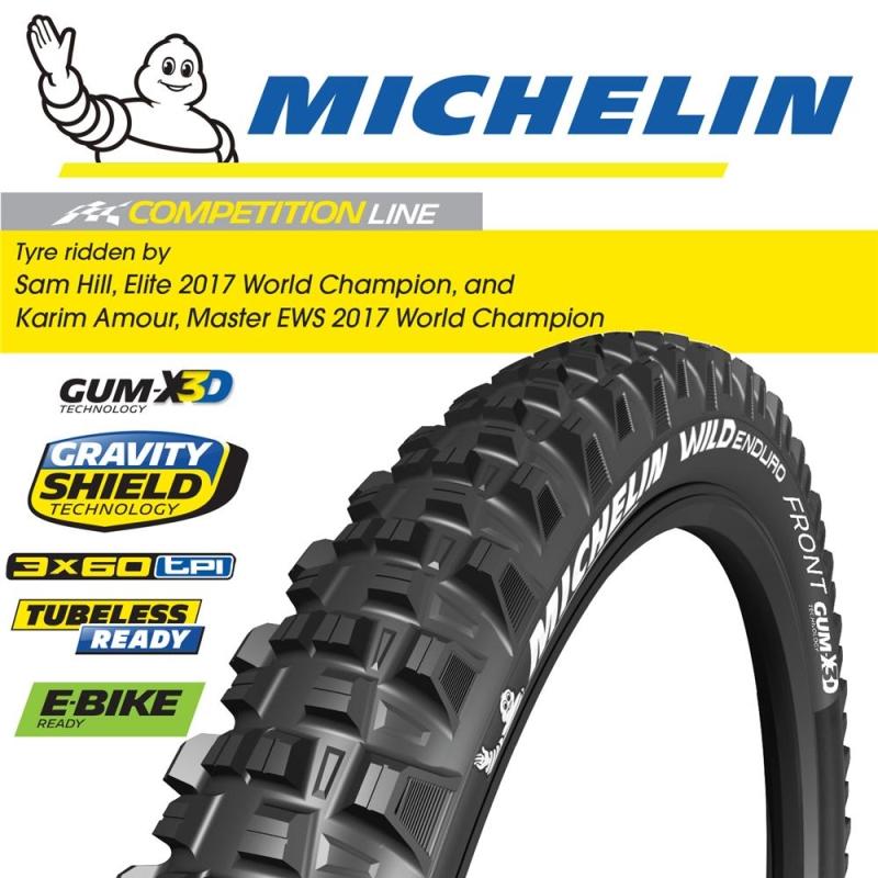 MICHELIN WILD ENDURO FRONT GUM-X3D 27.5