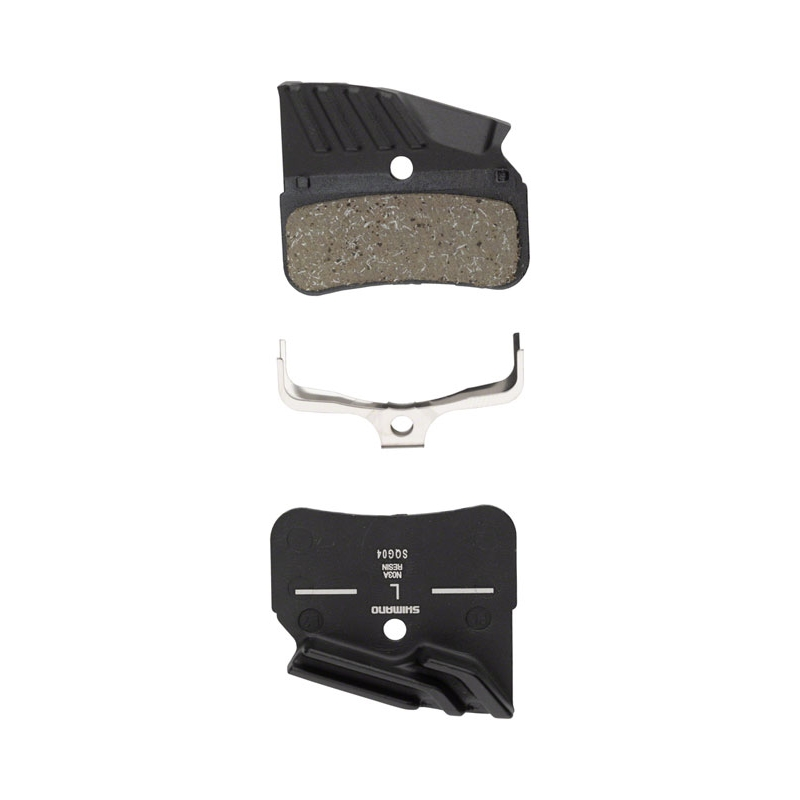 SHIMANO N03A DISC PADS WITH COOLING FINS