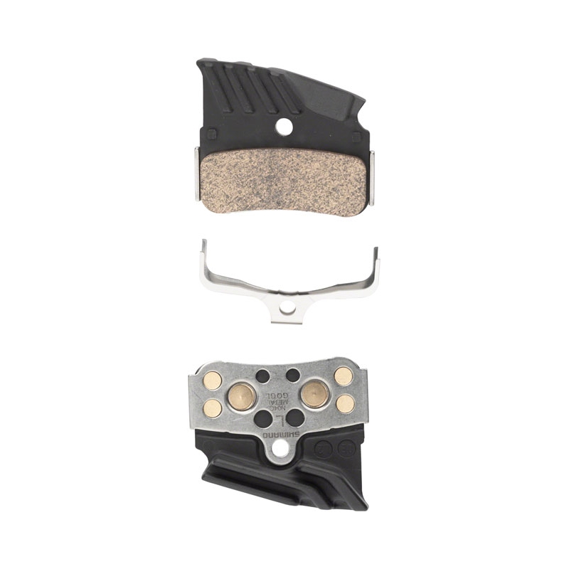 SHIMANO N04C DISC PADS WITH COOLING FINS