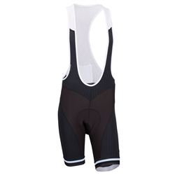Image: BELLWETHER FORZA BIB SHORT BLACK / WHITE LARGE