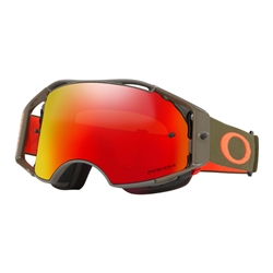 Image: OAKLEY AIRBRAKE MTB GOGGLE DARK BRUSH ORANGE - PRIZM TRAIL TORCH IRIDIUM