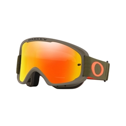 Image: OAKLEY O FRAME 2.0 MTB GOGGLE DARK BRUSH ORANGE - FIRE IRIDIUM