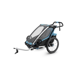 Image: THULE SPORT TRAILER 1 CHILD 10201001AU BLUE / BLACK