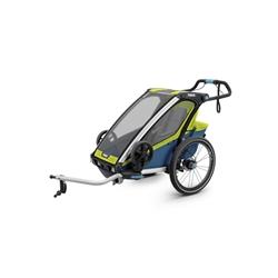 Image: THULE SPORT TRAILER 1 CHILD 10201002AU CHARTREUSE / MYKONOS BLUE
