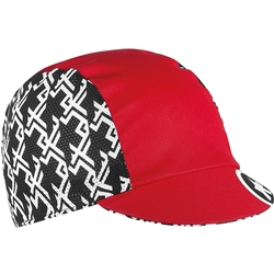 Image: ASSOS GT CAP COTTON CYCLING CAP NATIONAL RED ONE SIZE