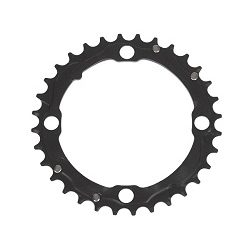 Image: TRUVATIV CHAIN RING V7 3MM ALLOY BLACK