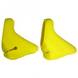 Image: HUDZ SOFTGRIP LEVER HOODS CAMPAGNOLO VERSION 3 09-> YELLOW