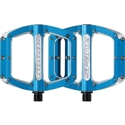 Image: SPANK SPOON PEDALS 110 LARGE BLUE