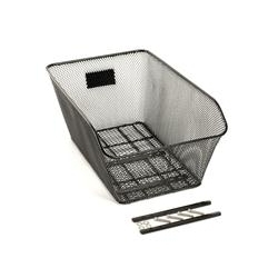 Image: BC BASKET REAR NARROW MESH LOW PROFILE BLACK