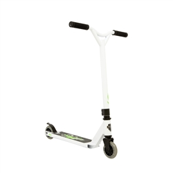 Image: GRIT ATOM SCOOTER (INCLUDES BOYS & GIRLS DECAL AND GRIPTAPE) WHITE