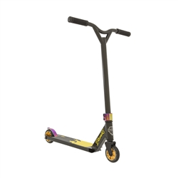 Image: GRIT EXTREMIST SCOOTER BLACK / GOLD METALLIC