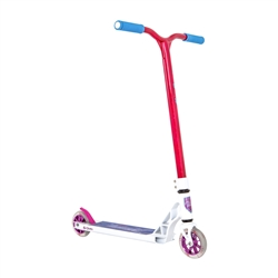 Image: GRIT VIBES SCOOTER WHITE / LASER PINK