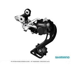 Image: SHIMANO XT RD-M786 REAR DERAILLEUR SILVER