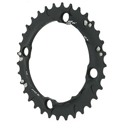 Image: TRUVATIV CHAIN RING S1 AL5 3X10 BLACK