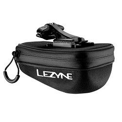 Image: LEZYNE POD CADDY QR SPARES BAG BLACK MEDIUM