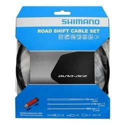 Image: SHIMANO ST-9000 OT-SP41 SHIFT CABLE SET POLYMER COATED BLACK