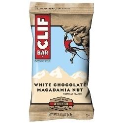Image: CLIF CLIF BAR WHITE CHOC MACADAMIA
