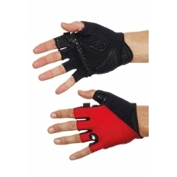Image: ASSOS S7 SUMMER GLOVES RED SWISS XSMALL