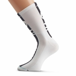 Image: ASSOS SUMMER SOCKS MILLE HIGH WHITE 0 (35-38)