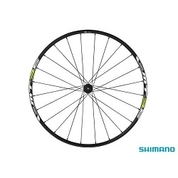 Image: SHIMANO WH-MT35 26 INCH FRONT WHEEL BLACK