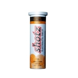 Image: SHOTZ/KODA ELECTROLYTE TABLETS 12PACK ORANGE/VANILLA