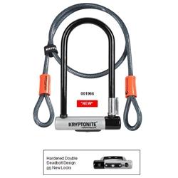 Image: KRYPTONITE KRYPTONITE SERIES 2 U-LOCK AND FLEX CABLE 001966