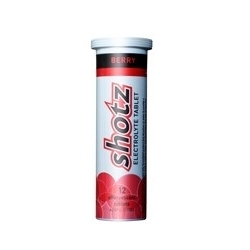 Image: SHOTZ/KODA ELECTROLYTE TABLETS 12PACK BERRY