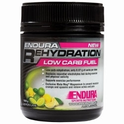 Image: ENDURA NUTRITION REHYDRATION LOW CARB FUEL 128G LEMON/LIME