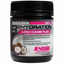 Image: ENDURA NUTRITION REHYDRATION LOW CARB FUEL 122G COCONUT