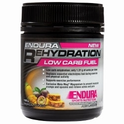 Image: ENDURA NUTRITION REHYDRATION LOW CARB FUEL 135G TROPICAL PUNCH