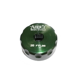 Image: ABBEY BIKE TOOLS BOTTOM BRACKET SOCKET COMMON GREEN