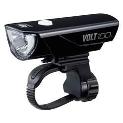Image: CATEYE VOLT 100 USB FRONT LIGHT HL-EL150RC BLACK