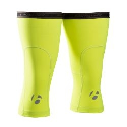Image: BONTRAGER THERMAL KNEE WARMER HI-VIS YELLOW SMALL