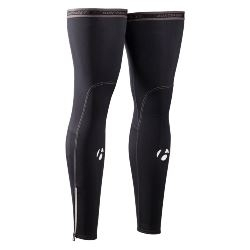 Image: BONTRAGER THERMAL LEG WARMER BLACK XLARGE