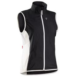 Image: BONTRAGER RACE WINDSHELL VEST LADIES BLACK LARGE